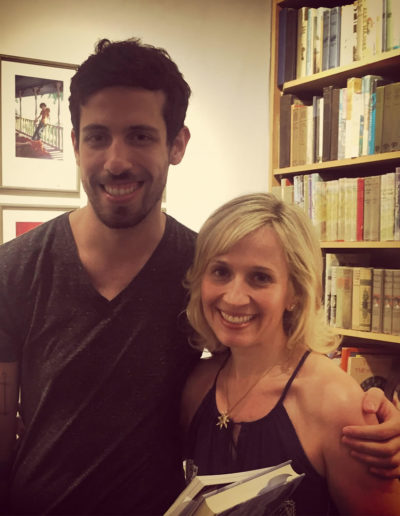 With Adam Silvera at Books of Wonder