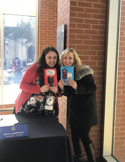 With Becky Albertalli