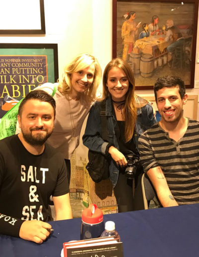 With David Arnold, Riley Cardoza and Adam Silvera