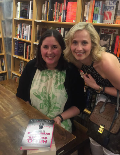 With Jennifer E. Smith at McNally Jackson