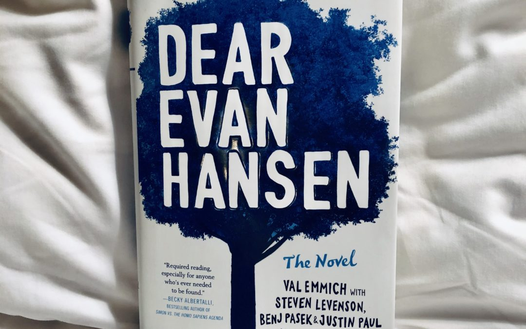 Dear Evan Hansen: The Novel-Q & A with Val Emmich