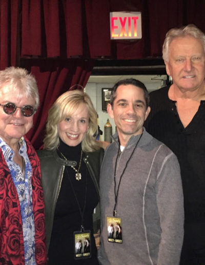With Russell Hitchcock and Graham Russell (Air Supply!) and my husband